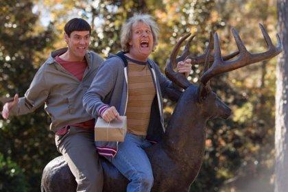 Primera imagen oficial de la secuela de 'Dos tontos muy tontos' con Jim Carrey y Jeff Daniels