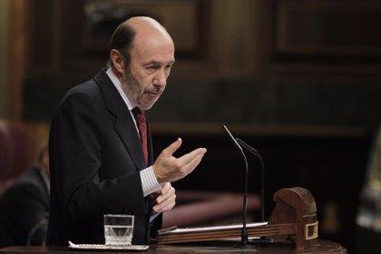 """(Ampl.) Rubalcaba valora los avances en la unión bancaria pero los ve """"insuficientes"""""""