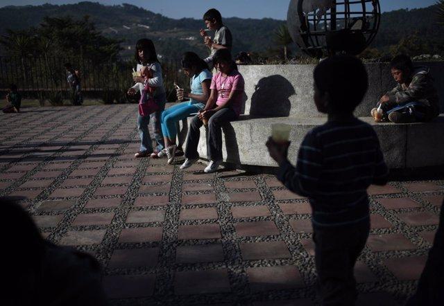 Niños guatemaltecos