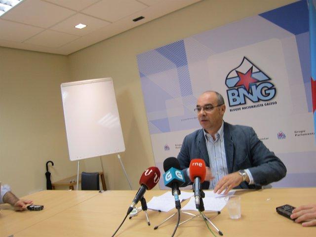 Francisco Jorquera, portavoz parlamentario del BNG