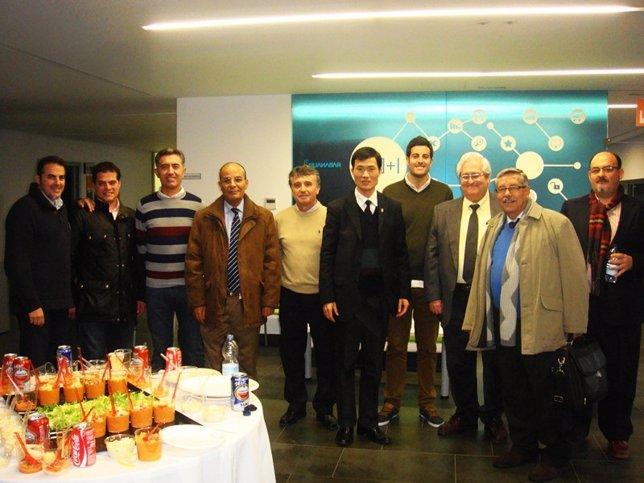 Asistentes a la asamblea del Spanish Olive Technology