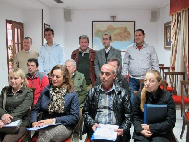 Entrega de proyectos de rehabilitación de viviendas a familias jiennenses