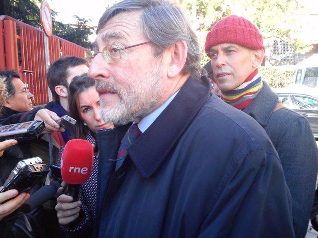 Lissavetzky con Pedro Zerolo