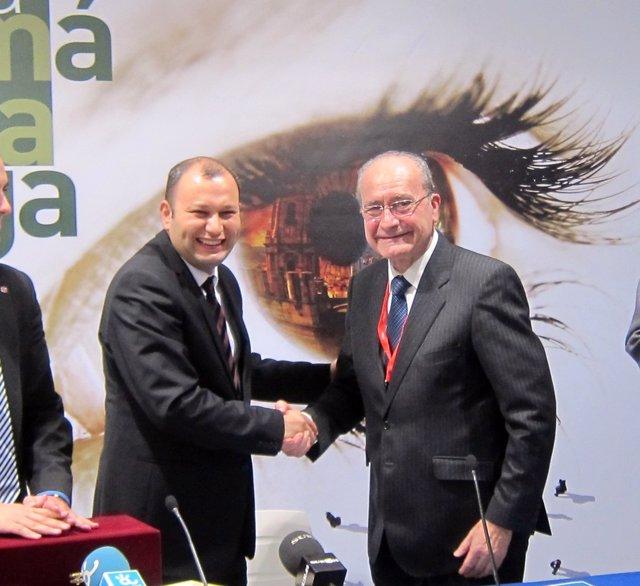 Málaga renueva acuerdo con Turkish Airlines