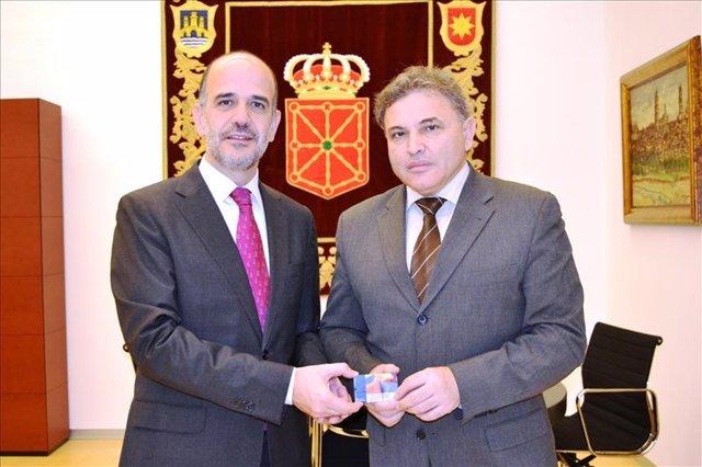 Alberto Catalán y Pedro González.