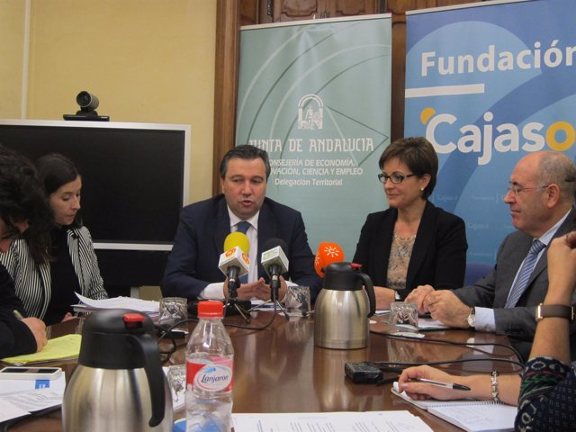 El director general del Instituto de Estudios de Cajasol, Javier Blanco