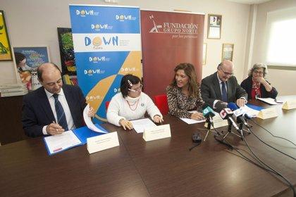 Down Galicia y Fundación Grupo Norte colaboran en un programa formativo para a la inserción laboral de este colectivo