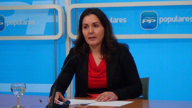 La diputada popular Raquel Sáenz