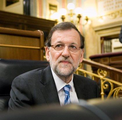 Rajoy reitera su compromiso con la 'Y vasca' y subraya que en dos años se han ejecutado 1.106 millones