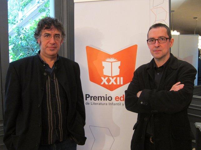 D.Nel·lo y P.Riera, ganadores de los premios Edebé