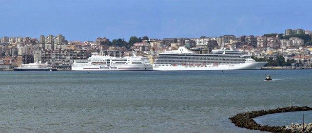 Crucero en Santander