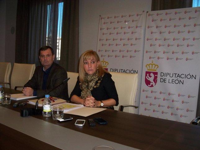 Isabel Carrasco Presenta Los Planes De Empleo Y Obras De La Diputación