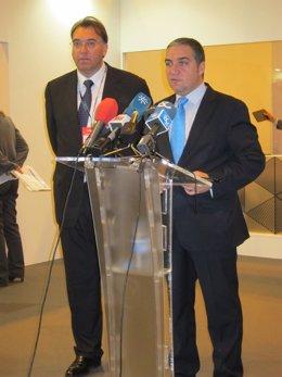 El presidente de la Diputación de Málaga, Elías Bendodo, en Fitur