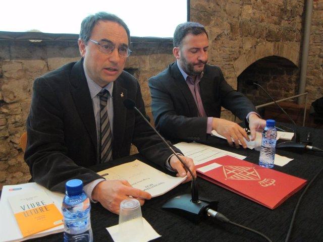 Jaume Ciurana y Toni Soler