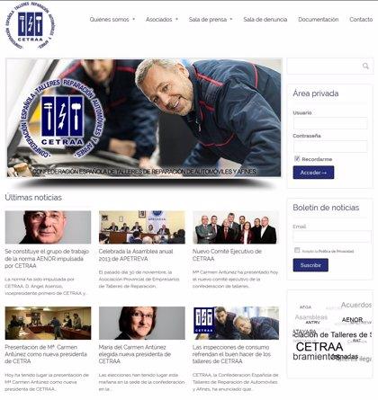 Cetraa lanza su nueva web