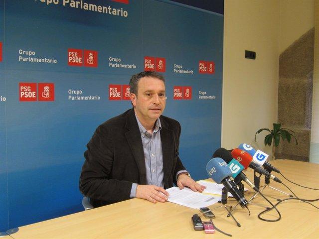 El parlamentario socialista Pablo García