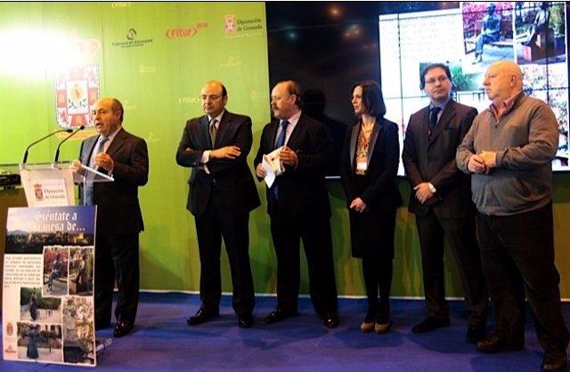 El alcalde de Granada presenta en Fitur una iniciativa gastronómica