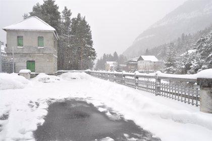 Alerta naranja por nieve en el Pirineo