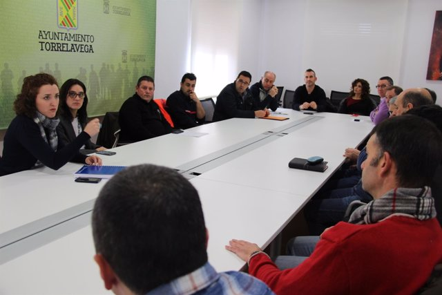 Reunión ayuntamiento con trabajadores municipales