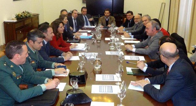 Reunión de la Comisión Regional de Tráfico