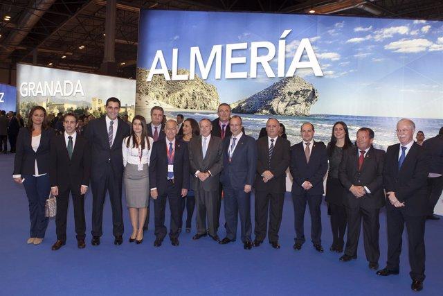 Representación de Almería en Fitur