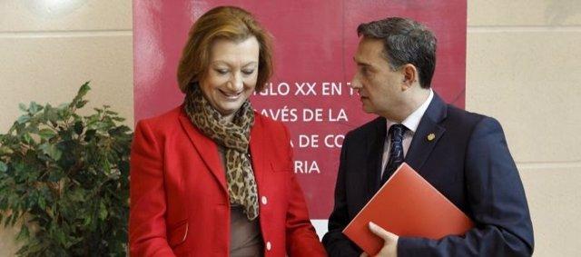 Rudi asiste a la presentación de un libro sobre la Cámara de Teruel