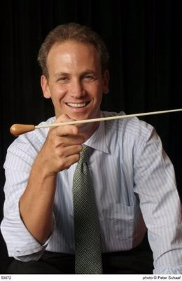 El director de orquesta Carlos Miguel Prieto