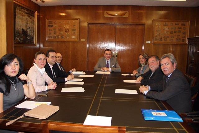 Reunión de Motril con el director general de Marina Mercante