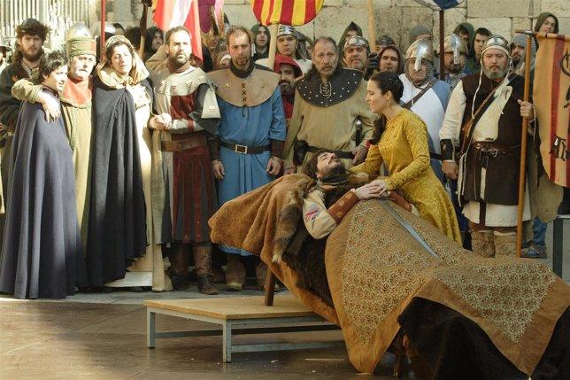 Recreación de las Bodas de Isabel, en Teruel