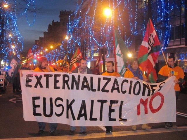 Movilización de Euskaltel