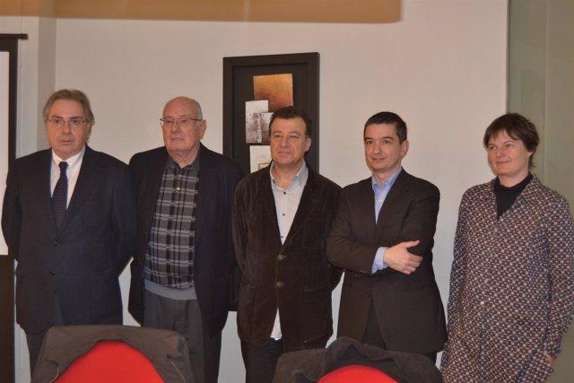 Representantes del sector de la construcción de Girona