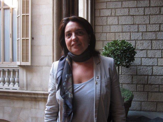 La teniente de alcalde de Economía de Barcelona, Sònia Recasens