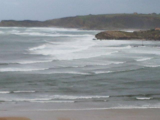 Mar, Olas, Oleaje En Cantabria