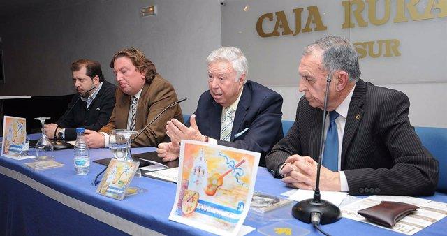 García Palacios en la presentación del doble CD