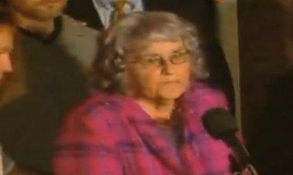 """Madre del policía asesinado por Tamayo: """"Me alegro de que esto ya haya terminado"""""""