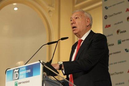 Margallo avisa de que una Cataluña independiente sería un 25 o 30% más pobre y sin acceso al BCE ni al FMI