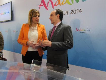 Turismo.-Fitur.-AV.- Andalucía recibe 22,5 millones de turistas en 2013, un 4,1% más y supera el nivel alcanzado en 2009