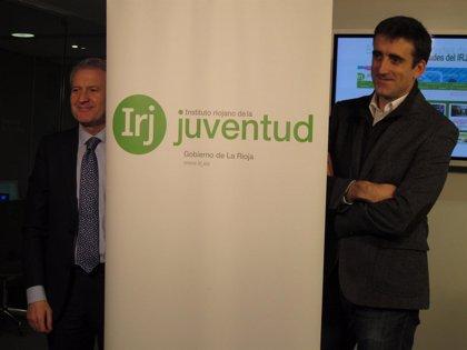 Del Río destaca que el programa de actividades del IRJ en 2013 benefició a más de 70.000 jóvenes riojanos