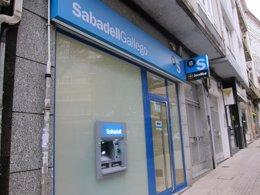 Imagen de una oficina de SabadellGallego