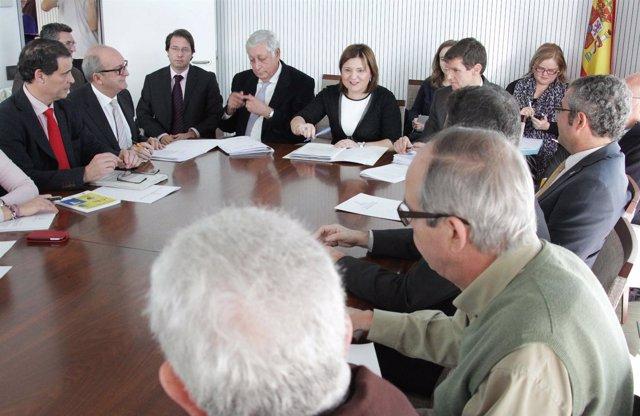 Bonig en el Consejo Asedor y Participación de Medio Ambiente