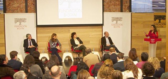 Presentación de la V edición de Talento Solidario, de la Fundación Botín