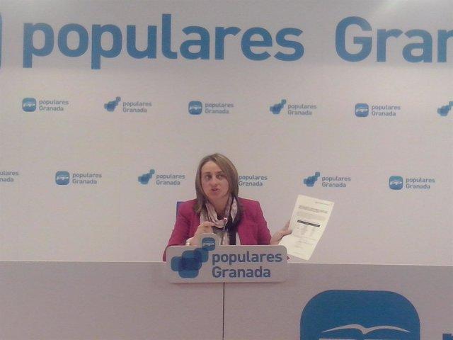 Portavoz de Educación del PP en el Parlamento andaluz, Marifrán Carazo