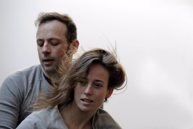 Marta Etura y Chevi Muraday en 'Return'