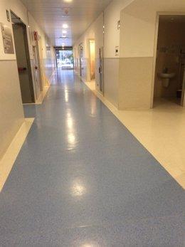 Imagen del pasillo de Urgencias