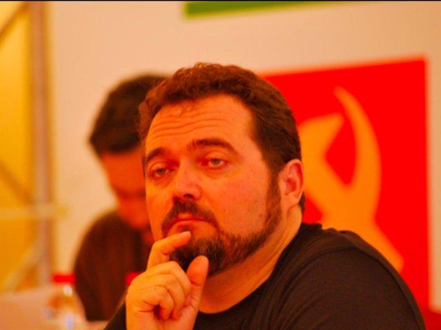 Juan de Dios Villanueva, en rueda de prensa.