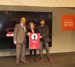 Presentación de la iniciativa 'Walking is good' del Ayuntamiento de Valladolid