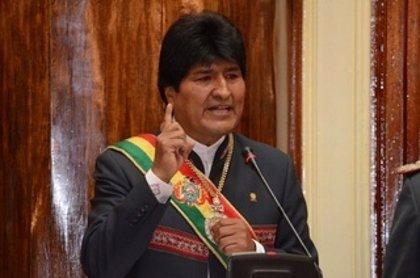 Morales anuncia rebajas en la tarifa telefónica y de Internet