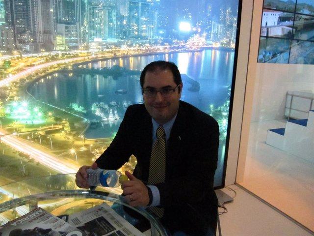 Ernesto Orillac, viceministro de Turismo de Panamá