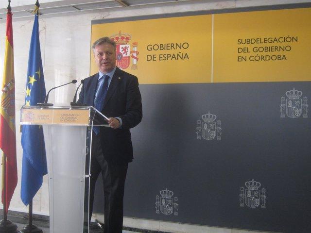 El subdelegado del Gobierno, Juan José Primo Jurado