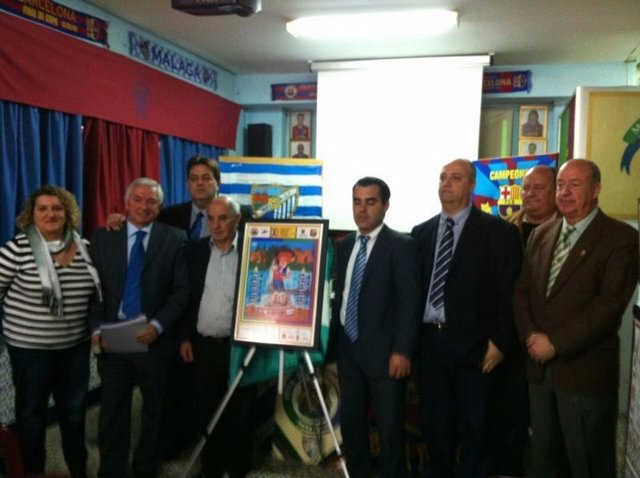 Presentación del cartel del Congreso de Peñas Barcelonistas